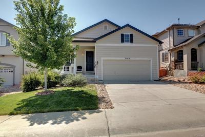 Castle Rock Single Family Home Under Contract: 3168 Black Canyon Way