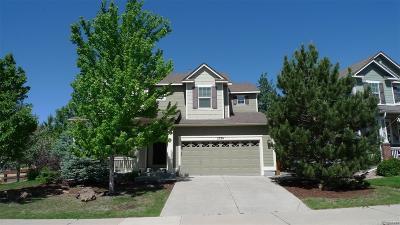 Castle Rock CO Single Family Home Active: $539,900