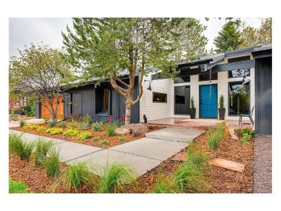 Boulder Single Family Home Active: 4606 Field Court