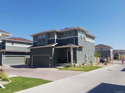 Castle Rock Single Family Home Under Contract: 4480 Elegant Street