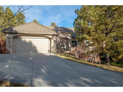 Castle Rock Single Family Home Under Contract: 4529 Silver Bell Circle