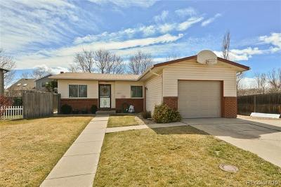 Longmont Single Family Home Active: 1852 Lincoln Drive