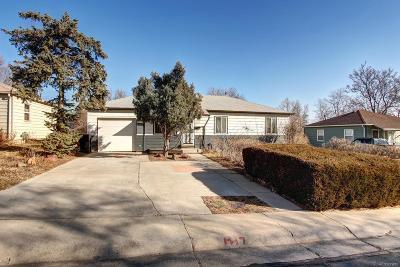Thornton Single Family Home Under Contract: 1681 Rowena Street