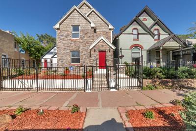 Baker, Baker/Santa Fe, Broadway Terrace, Byers, Santa Fe Arts District Single Family Home Active: 460 Elati Street