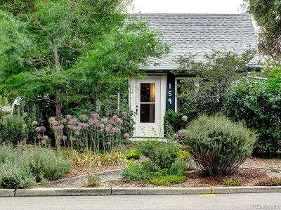 Denver Single Family Home Active: 159 Stuart Street
