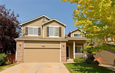 Highlands Ranch Single Family Home Under Contract: 4484 Ketchwood Circle