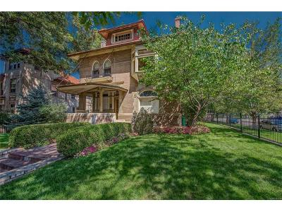 Denver Single Family Home Active: 1100 Humboldt Street