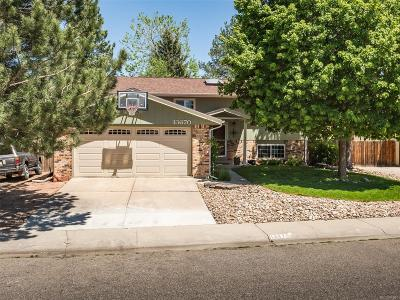 Single Family Home Under Contract: 13670 West 66th Place