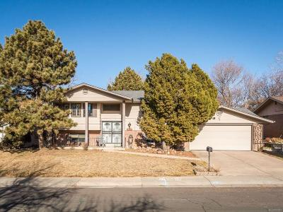 Denver Single Family Home Under Contract: 8533 East Saratoga Place