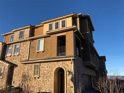 Highlands Ranch Condo/Townhouse Active: 9475 Loggia Street #D