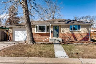 Lakewood Single Family Home Active: 1435 South Benton Street