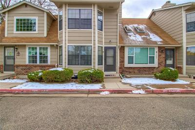 Arvada Condo/Townhouse Active: 7980 Chase Circle #F