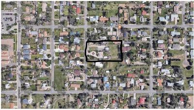 Lakewood Residential Lots & Land Active: 840 Fenton Street