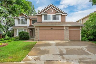 Centennial Single Family Home Active: 20915 East Berry Avenue
