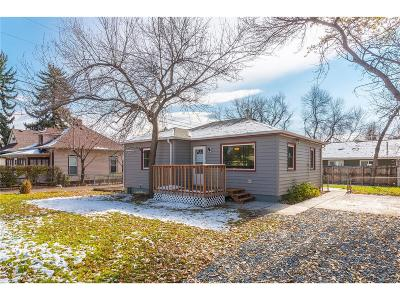 Longmont Single Family Home Under Contract: 21 4th Avenue