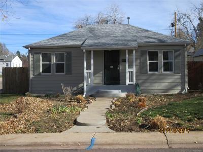 Englewood Single Family Home Active: 4200 South Elati Street