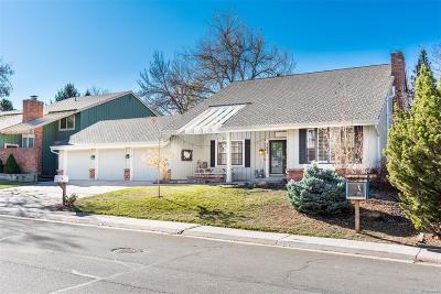 Centennial Single Family Home Under Contract: 7253 South Garfield Street
