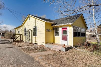Lakewood Single Family Home Under Contract: 1057 South Ames Street