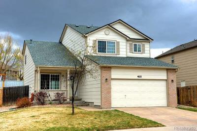 Castle Rock Single Family Home Under Contract: 4622 East Bennington Avenue