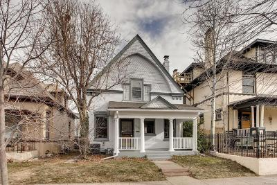 Single Family Home Under Contract: 1410 Clayton Street