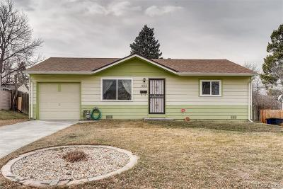 Denver Single Family Home Active: 1835 South Meade Street