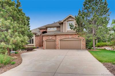 Castle Pines CO Single Family Home Active: $979,000