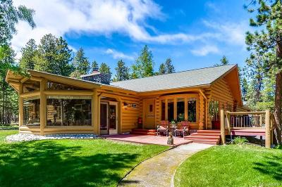 Conifer Single Family Home Under Contract: 23550 Pleasant Park Road