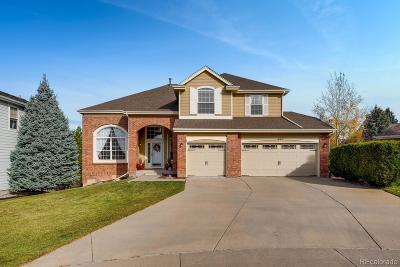 Castle Pines Single Family Home Active: 227 Corby Place
