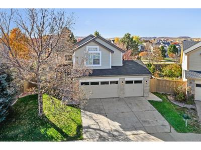 Castle Rock Single Family Home Active: 4531 North Blazingstar Trail