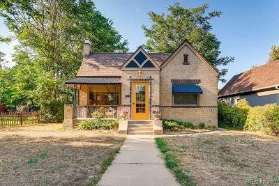 Single Family Home Under Contract: 2635 West 39th Avenue