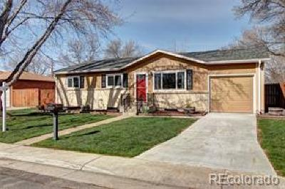Arvada Single Family Home Active: 6689 Lewis Street