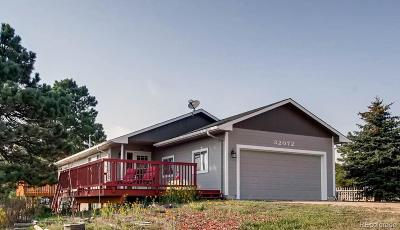 Kiowa Single Family Home Active: 32072 Pine View Drive