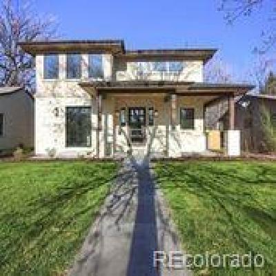 Denver Single Family Home Active: 1525 South Saint Paul Street