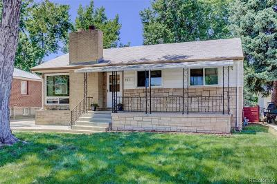 Englewood Single Family Home Active: 3175 South Fox Street