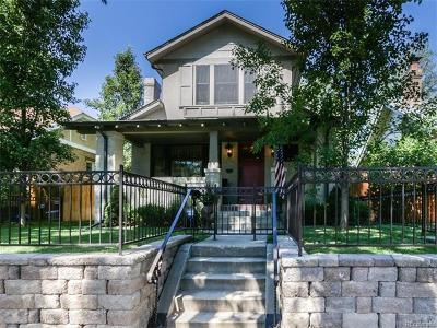 Denver CO Single Family Home Sold: $1,040,000