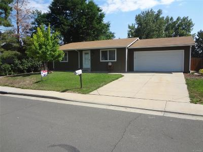 Broomfield Single Family Home Under Contract: 2958 West 134th Place