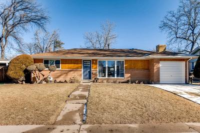 Denver Single Family Home Active: 1916 South Quitman Street