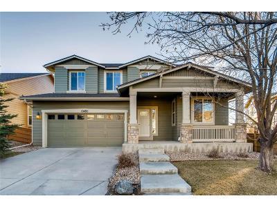 Commerce City Single Family Home Under Contract: 10495 Olathe Way