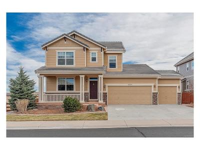 Castle Rock Single Family Home Active: 6222 Arabella Drive
