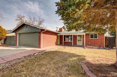 Arvada Single Family Home Active: 6164 Garrison Street