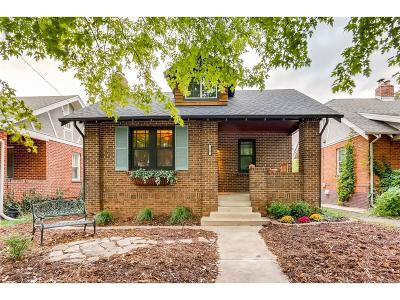 Denver Single Family Home Under Contract: 347 South Clarkson Street