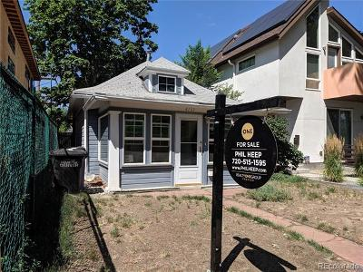Denver Single Family Home Active: 4133 Utica Street