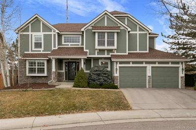 Highlands Ranch Single Family Home Under Contract: 8982 Chestnut Hill Lane