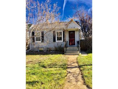 Denver Single Family Home Under Contract: 4570 Stuart Street