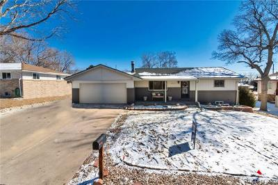 Arvada Single Family Home Active: 6914 Webster Street