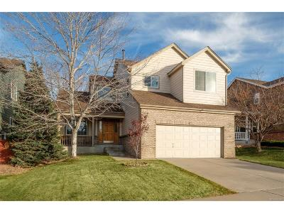 Highlands Ranch Single Family Home Under Contract: 9828 Florence Place