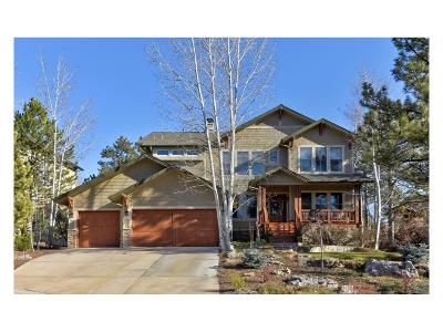 Castle Pines CO Single Family Home Under Contract: $899,000