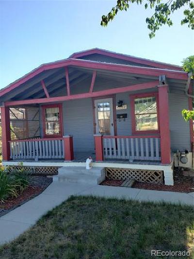 Denver Single Family Home Active: 4860 King Street