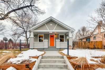 Single Family Home Under Contract: 2121 South Humboldt Street