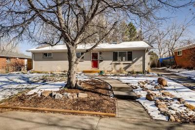 Boulder Single Family Home Under Contract: 610 South 45th Street